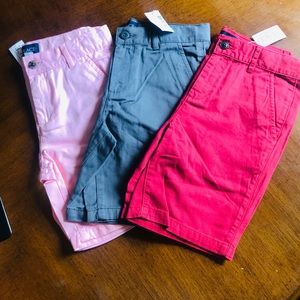 The Children's Place chino boys shorts, lot of 3